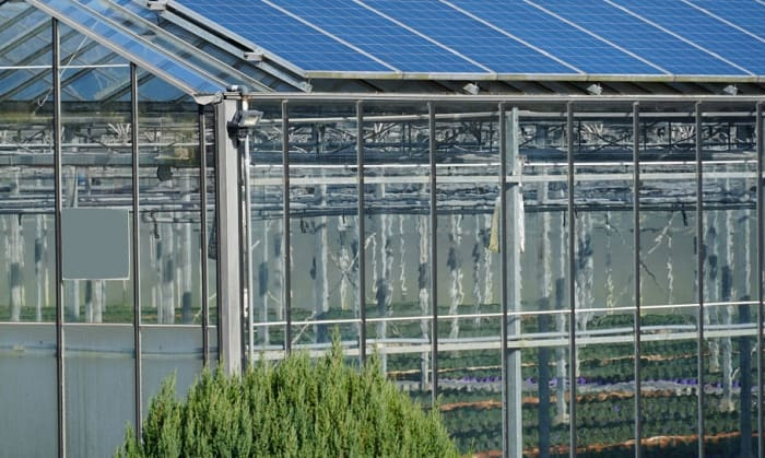 How-do-you-heat-a-small-greenhouse-with-solar-panels