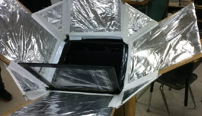 how to make a solar cooker step by step