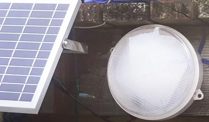 best solar shed light