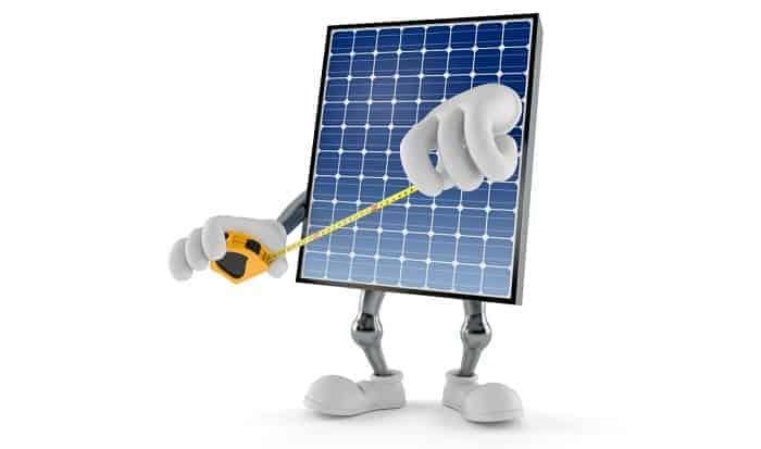 how big is a solar panel